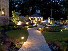 Landscape in Dallas - edging stones, layered plantings | by Gardens for Texas