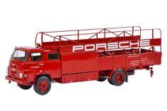 MAN 635 - Porsche Truck Transporter  1966 - Shuco Scale 1:43 (450894400)