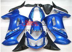 Blue & Black 2006-2008 Kawasaki ER6F