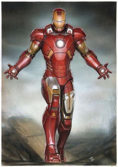 Iron Man by Adi Granov *