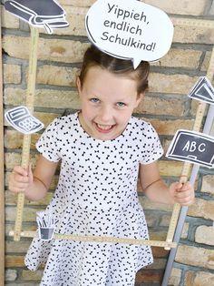 Ideen für die Einschulungsparty * Deko und Spiele zum Schulanfang * Mit Bastelvorlagen zum Ausdrucken, tollen Tipps und Spielen *