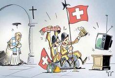 """Pape François - Pope Francis - Papa Francesco - Papa Francisco : coupe du monde de football, 1° juillet 2014 : Argentine-Suisse """"ça va être la guerre!!!"""" aurait dit le Pape en plaisantant!!!"""