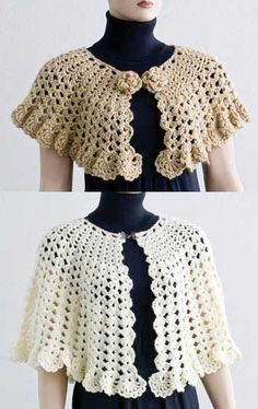 31f4e189c2a8f5 Easy Stitch Cape and Capelet Poncho Crochet