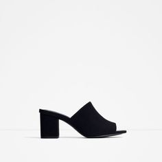 HIGH HEEL LEATHER LACE-UP SANDALS-View all-SHOES-WOMAN | ZARA United States