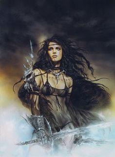 Satisfies the warrior in me <3
