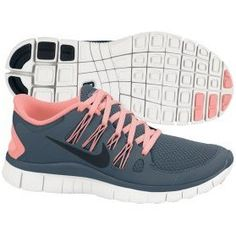 Nike Women's Free 5.0  Running Shoe - Armory/Pink  ($99.99)