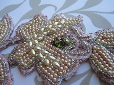 Vintage lace - hand embroidery by Magical Mystery Tuca, via Flickr