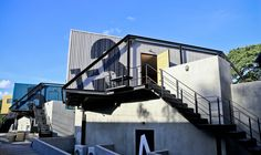 X2 River Kwai,Cortesía de agaligo studio. JOIN the only social media network on the web for shipping container homes. It is FREE. Watch me build mine and learn. http://cargocontainerhome101.com