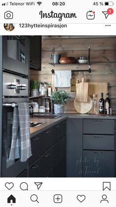 Kitchen Interior, New Kitchen, Kitchen Ideas, Winter Cabin, Cabin Kitchens, White Wood, Baby 2017, Kitchen Cabinets, House Design
