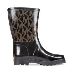 Stylish Women's Rain Boots Water Shoes High Leg With Cute Pattern Tyc175 >>> Want to know more, click on the image.