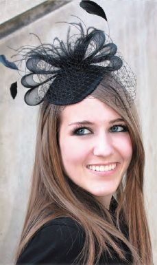 Cute. Fascinator hat. Compare fascinator hat styles on Amazon at http://buyfascinatorhats.com