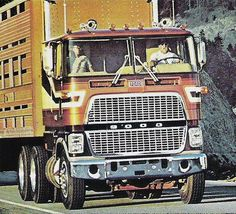 1978 C9000 Ford Semi Truck & Cattle Hauler