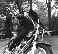 Steve McQueen, King of Cool is hot.