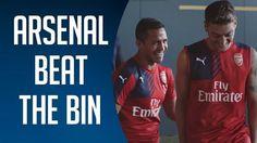 Alex Oxlade-Chamberlain, Mesut Ozil i Alexis Sanchez • Pokonać kosz, czyli wyzwanie piłkarzy Arsenalu Londyn • Wejdź i zobacz film >> #arsenal #football #soccer #sports #pilkanozna