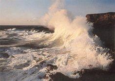 RUO LI - beautiful crashing wave