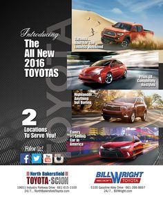 #AquaGraphics #NorthBakersfieldToyota #BillWrightToyota. TOYOTA Cars