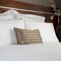 Unique to UK Homes And Textiles, Prima Pillowcases use a revolutionary plain weave, cotton-rich fabric giving a soft cotton feel that stays wonderfully white wash after wash. Styles available are as follows; Oxford pillowcases, Housewife pillowcases, Bag pillowcases, Euro Oxford pillowcases and Pillow slip styles. Prima is a classic white pillowcase. 130 thread count 140gsm. For other styles view our pillowcase page or alternatively visit our bed linen page to accessorize your bed.