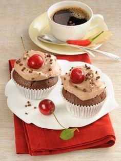 Rezept Cupcakes mit Schoko, unser Rezept Cupcakes mit Schoko - gofeminin.de