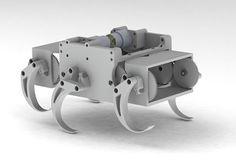 Design and Manufacturing II Project: Six-Legged Walking Machine - Timothy Zalusky