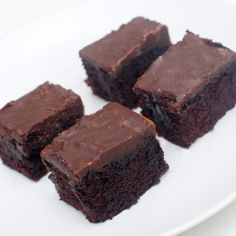 Dynket sjokoladekake