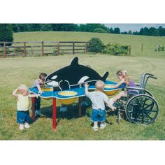 Whale Sand/Water Table from DunRite Playgrounds http://www.dunriteplaygrounds.com/store