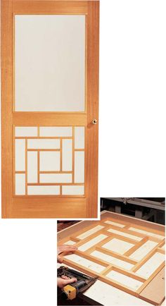 Wooden Storm Door Versatile design keeps winter winds out and lets summer breezes in. by Tim Johnson A storm door doesn't just keep out the…