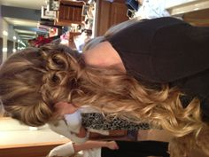 Great homecoming hair by H.E