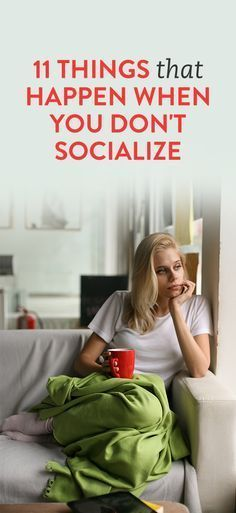 11 Things That Happen When You Don't Socialize. The Bible does tell us the one isolating themselves seeks selfish longing