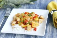 Chicken Pineapple Stir Fry by The Fit Housewife