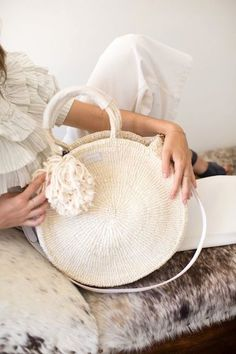 This Woven Circle Bag Is Way Too Cool (Le Fashion)