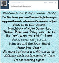 Hercules Percy Jackson