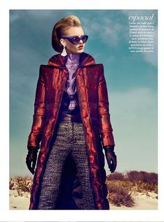 The Kevin Sinclair El Futuro Editorial Features Futuristic Ensembles #fashion trendhunter.com