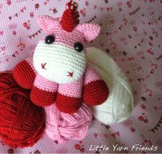 Little Baby Unicorn (Free Amigurumi Patterns)