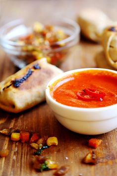 Homemade Baked Vegetable Wraps and Sriracha Sauce - Breads and Pastry, Recipes, Sauces and Dips - Divine Healthy Food