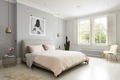 Современная нежная спальня, минимализм, скандинавский стиль, интерьер спальни, спальня дизайн, уютная спальная комната, кровать, minimalist bedroom ideas, scandi, scandinavian bedroom, bedroom design, interior, cozy bedroom #bedroom #idcollection #спальня