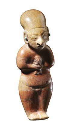 Scultura, Cultura Guangala, 400 a.C. – 500 d.C. Venezia, Collezione Ligabue.