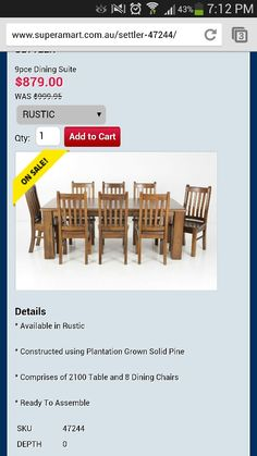 Nice table on sale