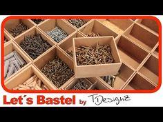 Kleinteileaufbewahrung selber machen | Anleitung | Ordnung in der Werkstatt - YouTube