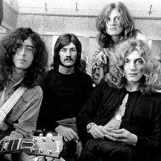 Led Zeppelin Jimmy Page, John Bonham, John Paul Jones & Robert Plant