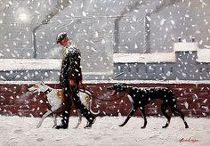 Limited edition signed 'Giclee' print direct from Steve Sanderson, Northern Art