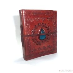 The stone was stitched on front cover gives this #LeatherDiary a rustic and vintage look. Have it for your loved one as a present. $11.00