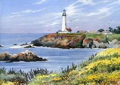 Pigeon Point Lighthouse. David Rogers