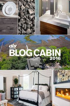 You could win it. But first, help us design it. Vote Now on design items for DIY Network Blog Cabin 2016