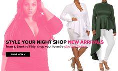 Plus Size Clubwear, Plus Size Clothing, Club Wear, Dresses, Tops, Sexy – PLUSSIZEFIX
