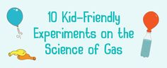 Get hands-on with gas as a state of matter in these ten fun science experiments for kids. You'll discover the awesome fizzy reactions and the incredible power gasses like airhave! Try these at home with the family and see for … Continue reading →