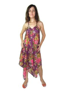 Baby Shower Cotton Bridesmaids Dress   Halter Scarf by Labhanshi, $29.99