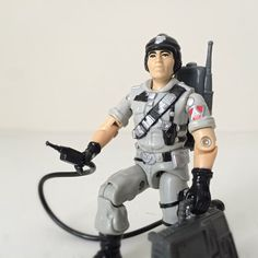80s GI Joe Action Figure - Mainframe - 1986 Hasbro Vintage GI Joe Toy - Includes All Original Accessories and File Card