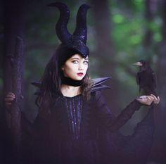 "Costume di Halloween da strega Malefica di ""Maleficent"""