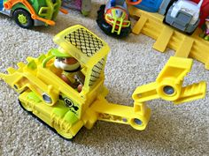 Paw Patrol Rubble Jungle Rescue Vehicle Toy