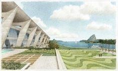 Museu de Arte Moderna – MAM, Rio de Janeiro, arquiteto Affonso Eduardo Reidy